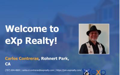 Carlos Contreras Joined eXp Realty!