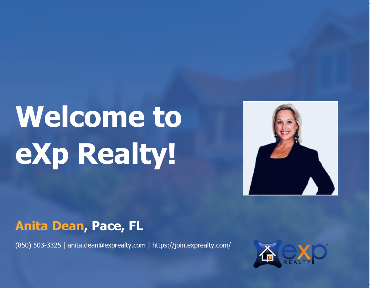 Anita Dean Joined eXp Realty!