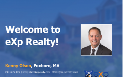 Welcome to eXp Realty Kenny Olson!
