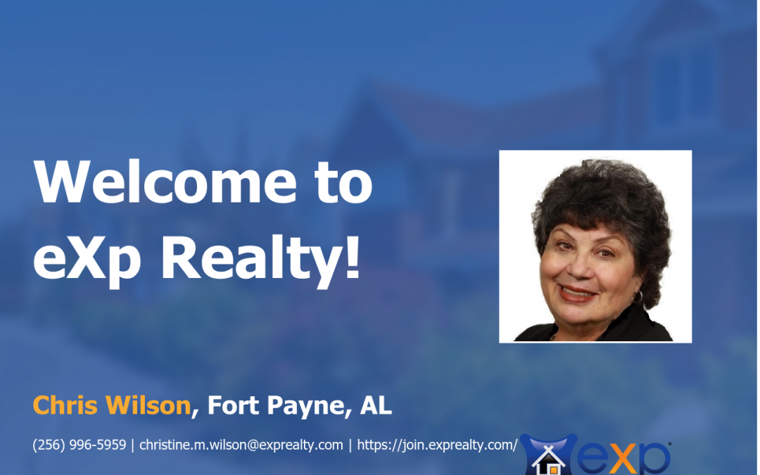 Chris Wilson Joined eXp Realty!