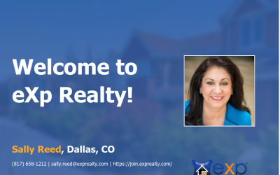 Sally Reed Joined eXp Realty!