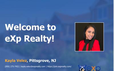 eXp Realty Welcomes Kayla Velez!