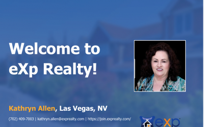 Welcome to eXp Realty Kathryn Allen!