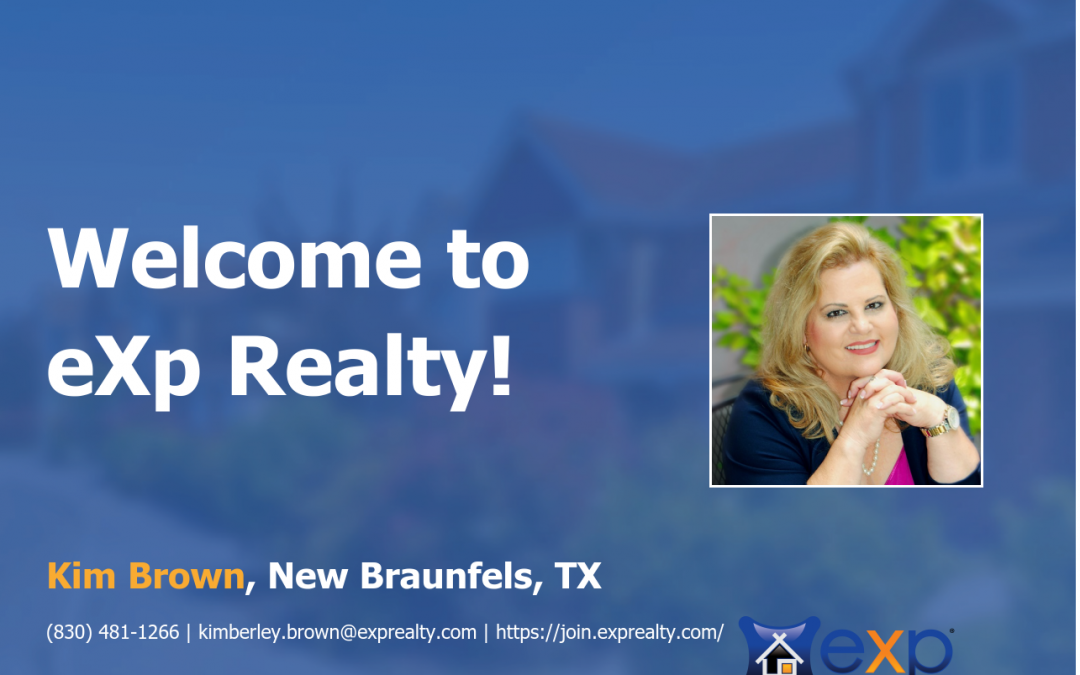 eXp Realty Welcomes Kim Brown!
