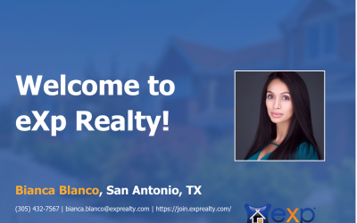 eXp Realty Welcomes Bianca Blanco!