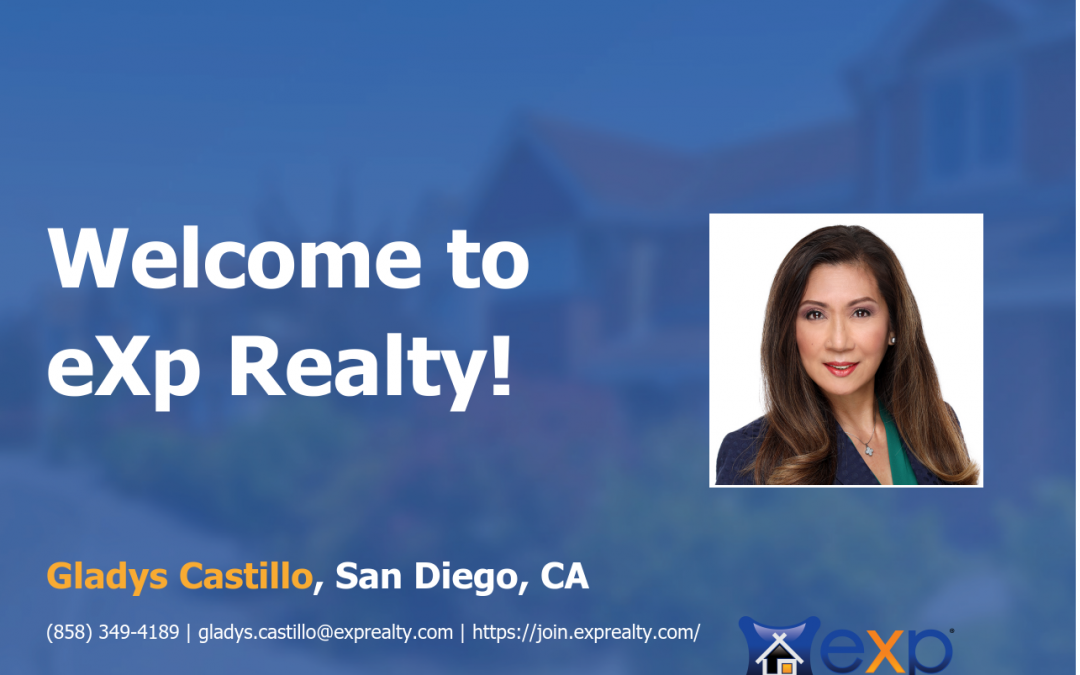 eXp Realty Welcomes Gladys Castillo!