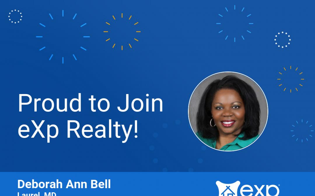 eXp Realty Welcomes Deborah Ann Bell!