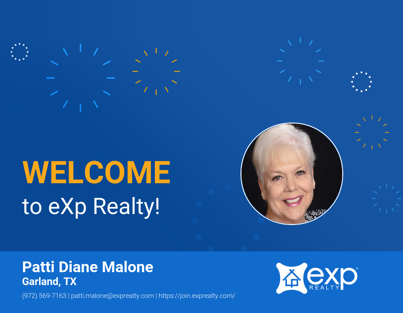 eXp Realty Welcomes Patti Malone!