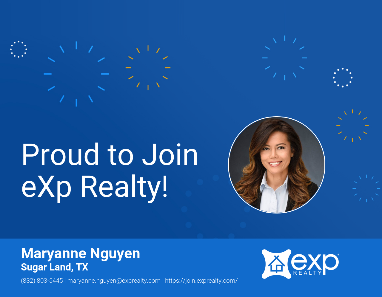 eXp Realty Welcomes Maryanne Nguyen!