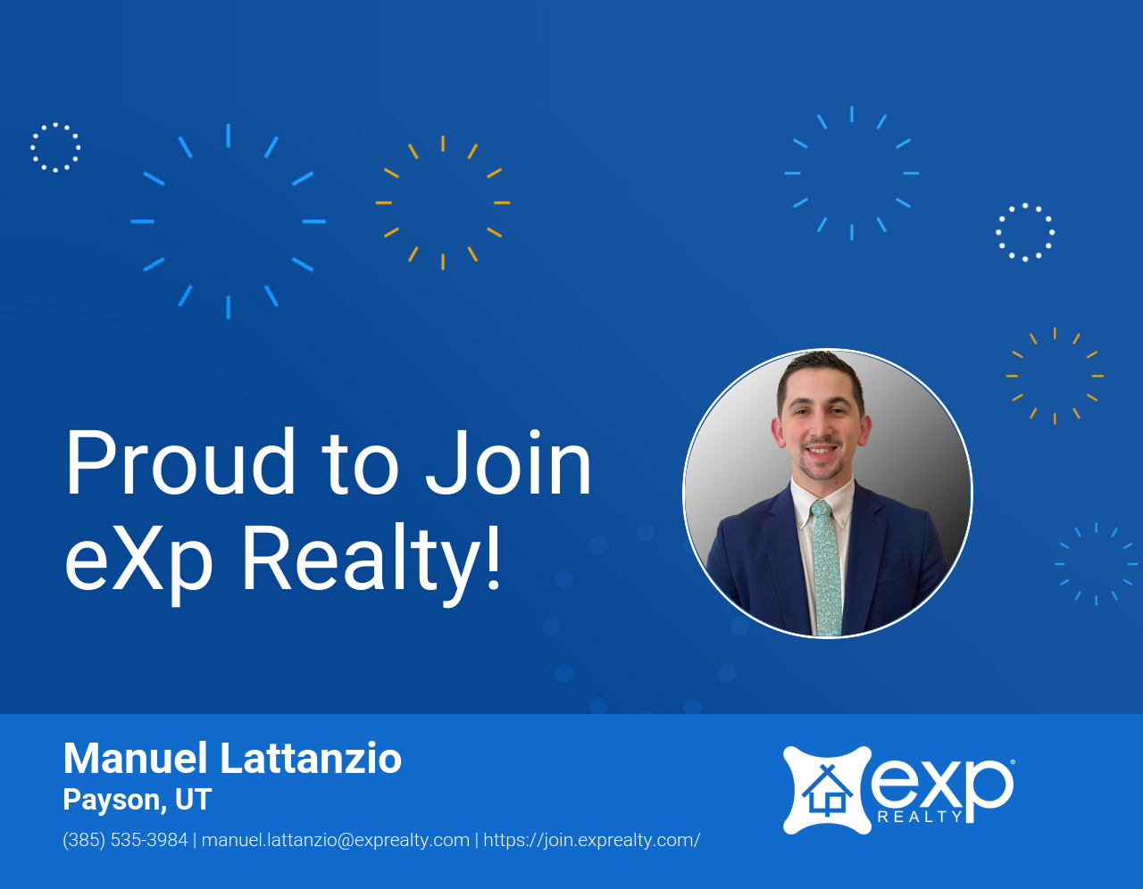 Welcome to eXp Realty Manuel Lattanzio!