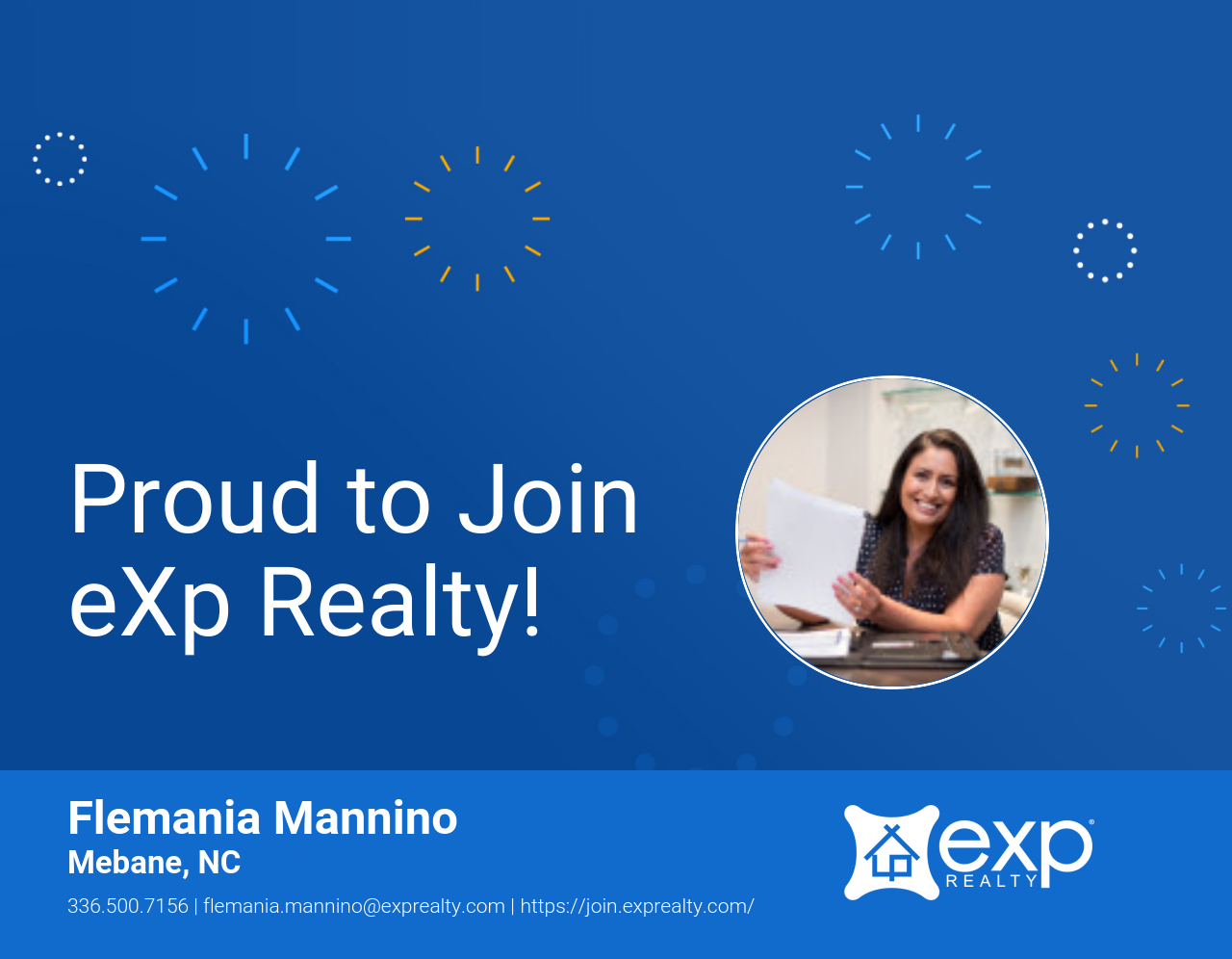 Flemania Mannino Joined eXp Realty!