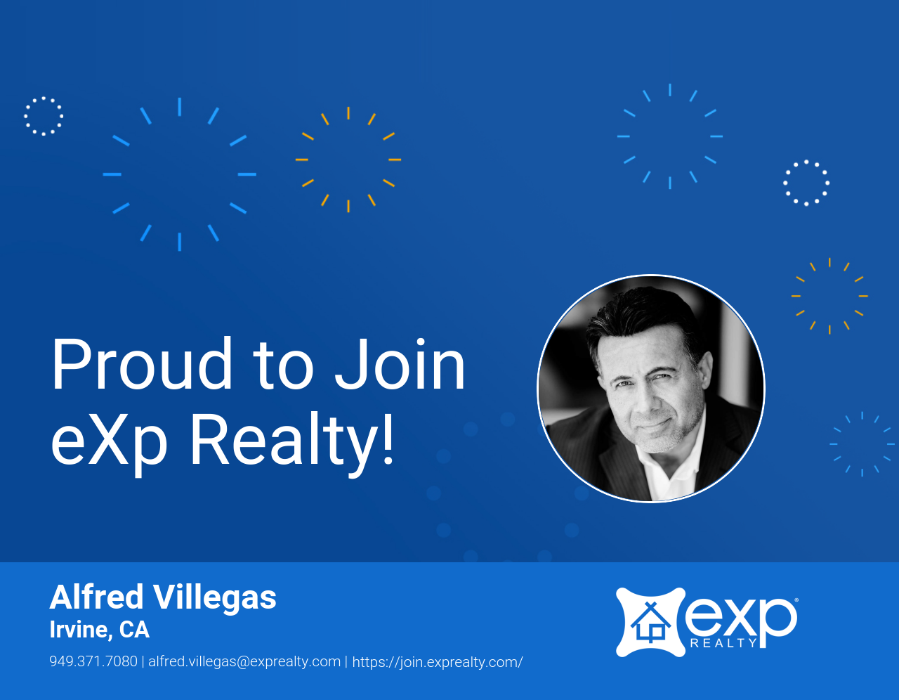 Alfred Villegas Joined eXp Realty!