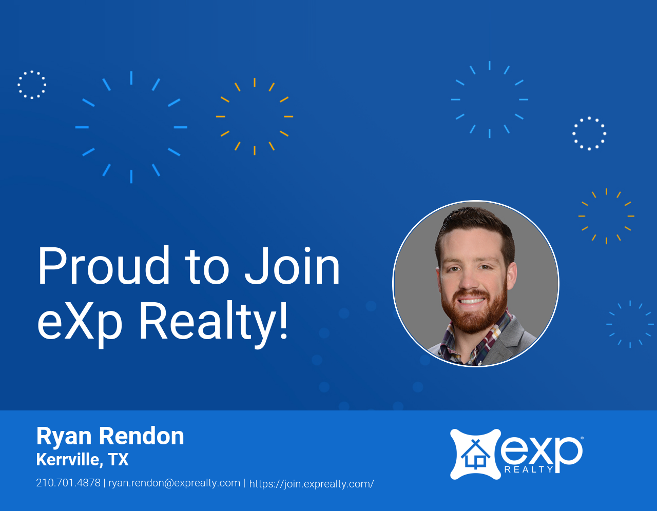Ryan Rendon Joined eXp Realty!