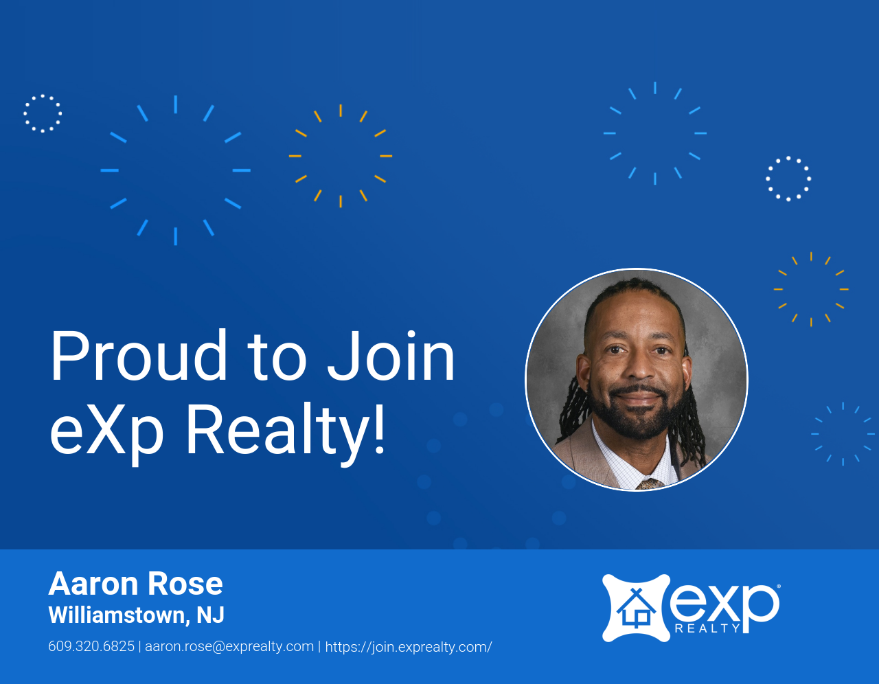 Aaron Rose Joined eXp Realty!