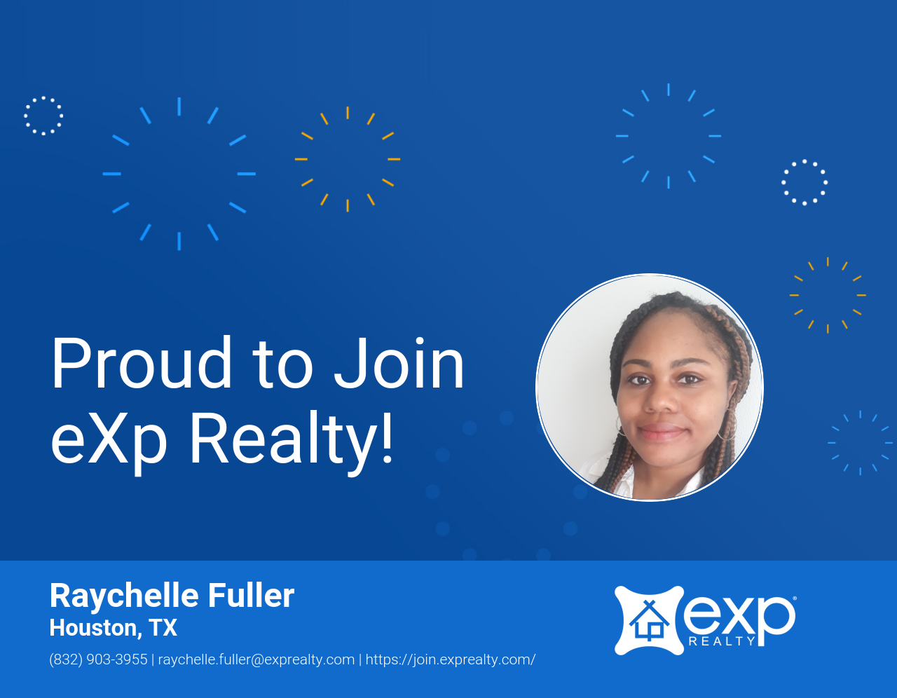 Raychelle Fuller Joined eXp Realty!