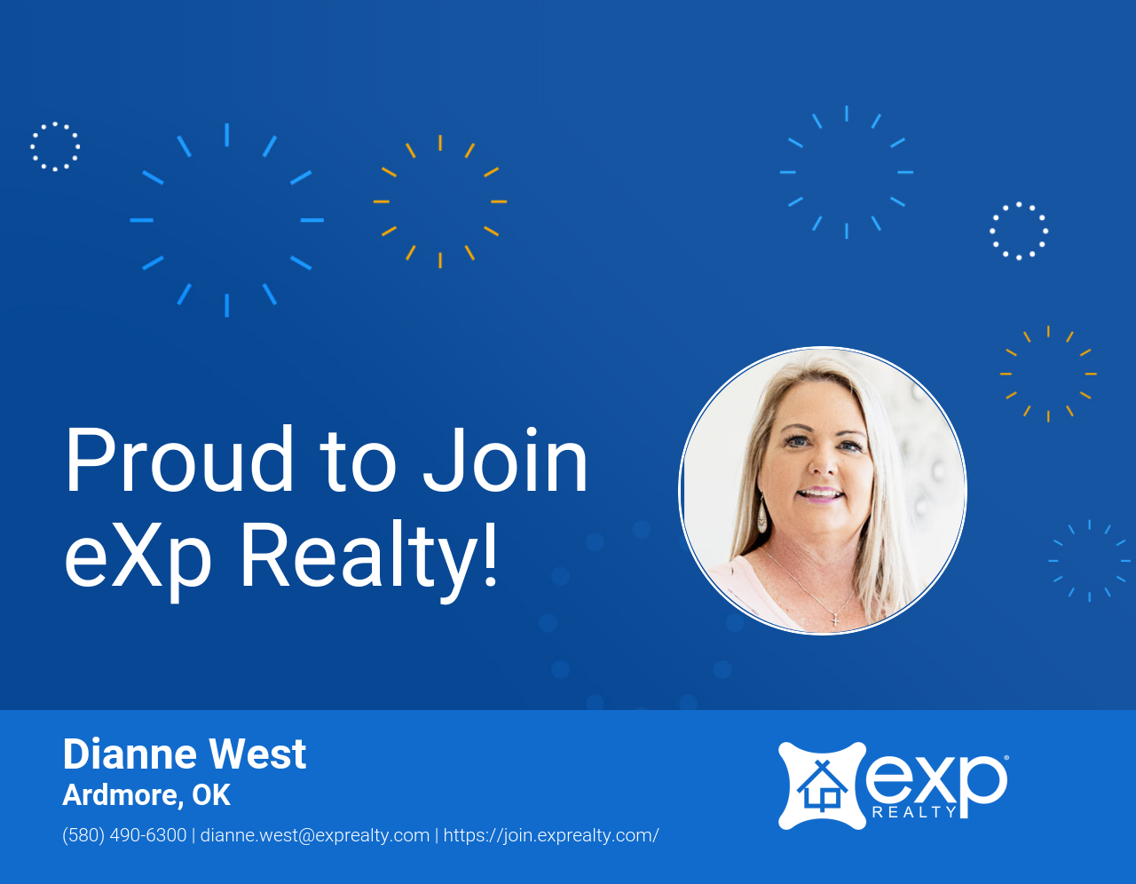 eXp Realty Welcomes Dianne West!