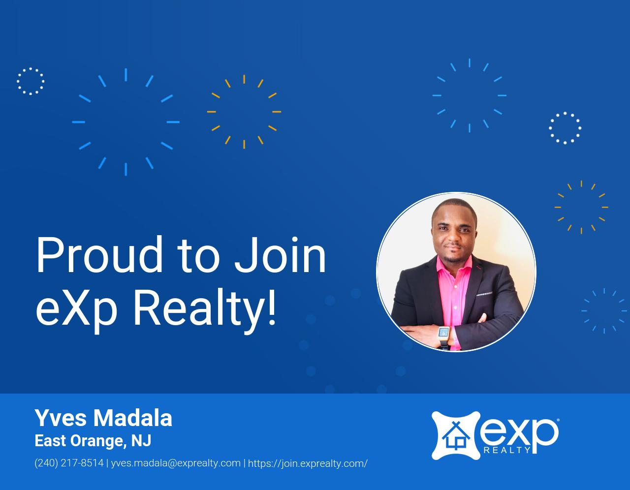 eXp Realty Welcomes Yves Madala!