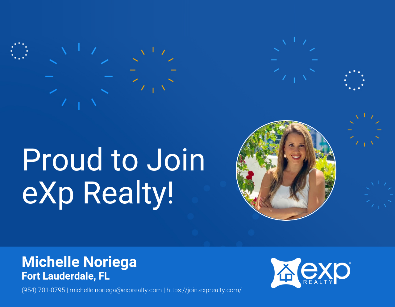 Welcome to eXp Realty Michelle Noriega!