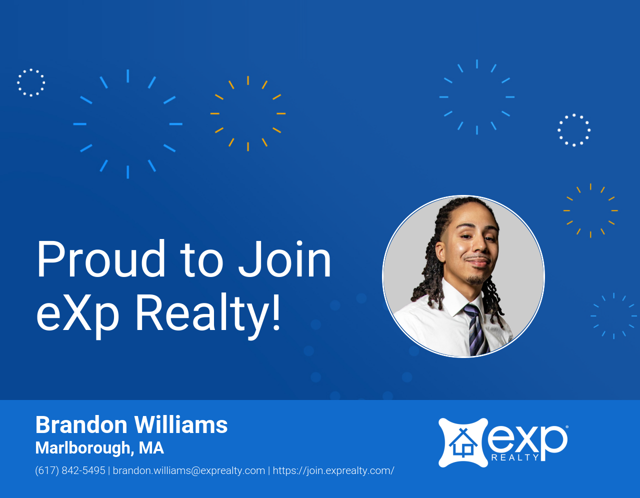 eXp Realty Welcomes Brandon Williams!