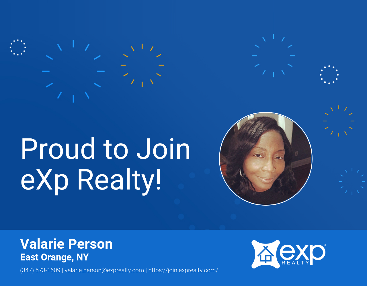 eXp Realty Welcomes Valarie Person!
