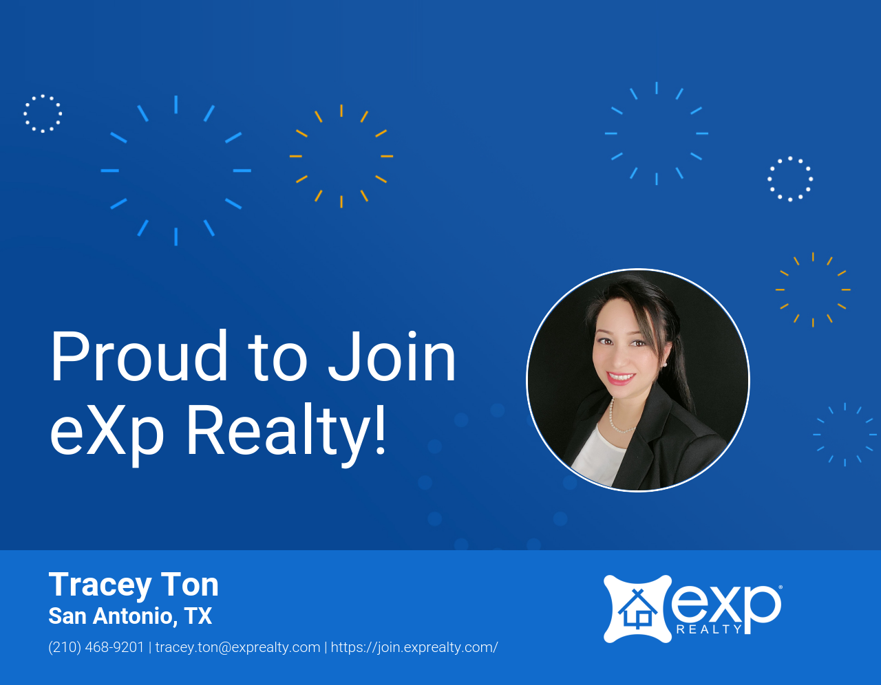Tracey Ton Joined eXp Realty!
