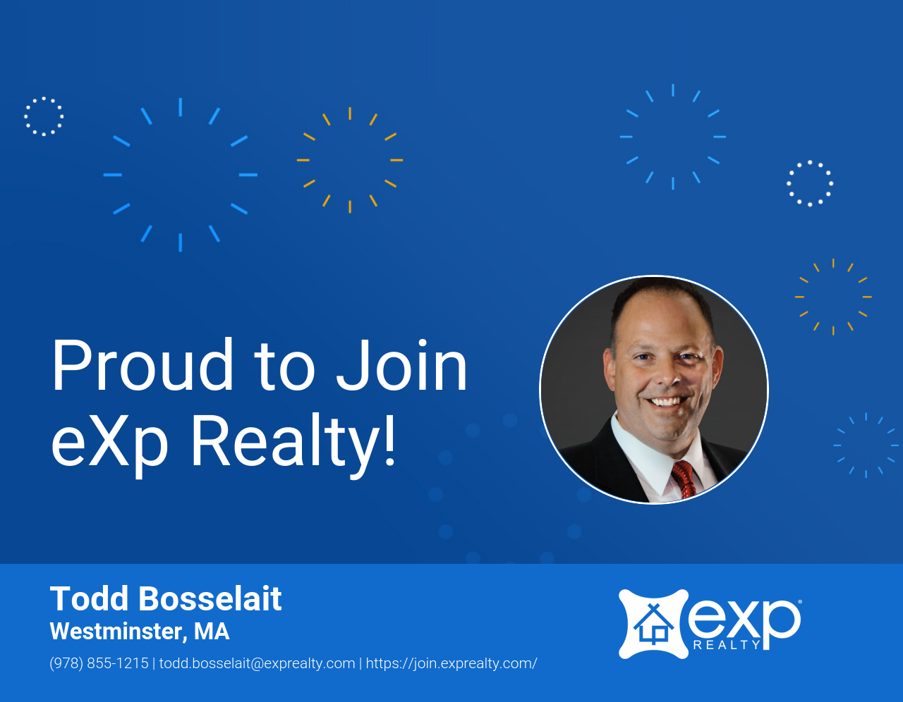 eXp Realty Welcomes Todd Bosselait!