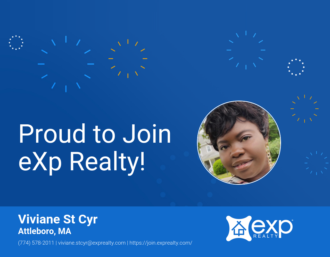 Viviane St Cyr Joined eXp Realty!