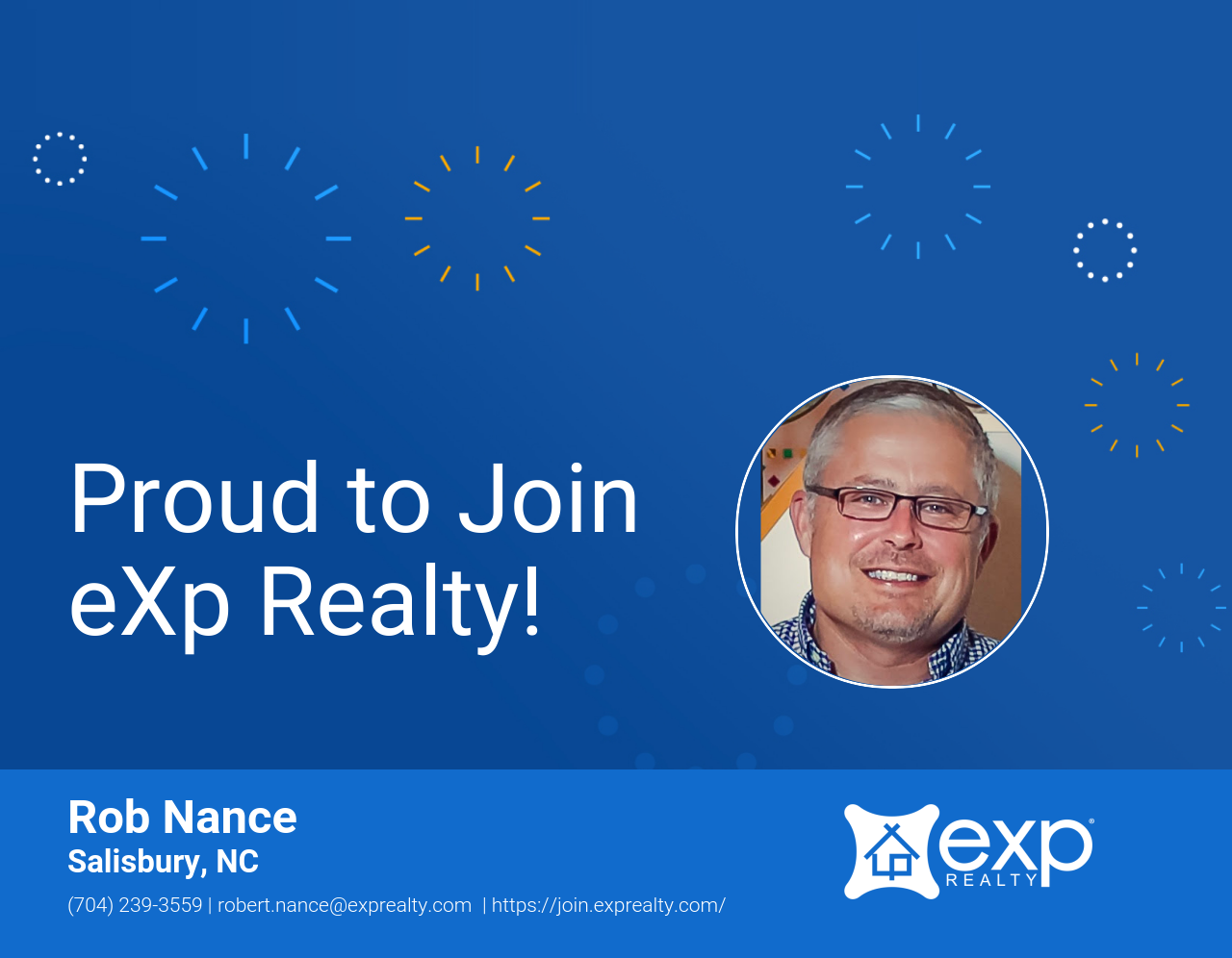 eXp Realty Welcomes Rob Nance!