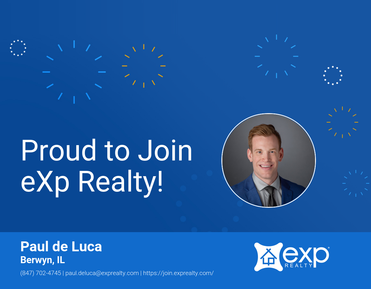 Paul de Luca Joined eXp Realty!