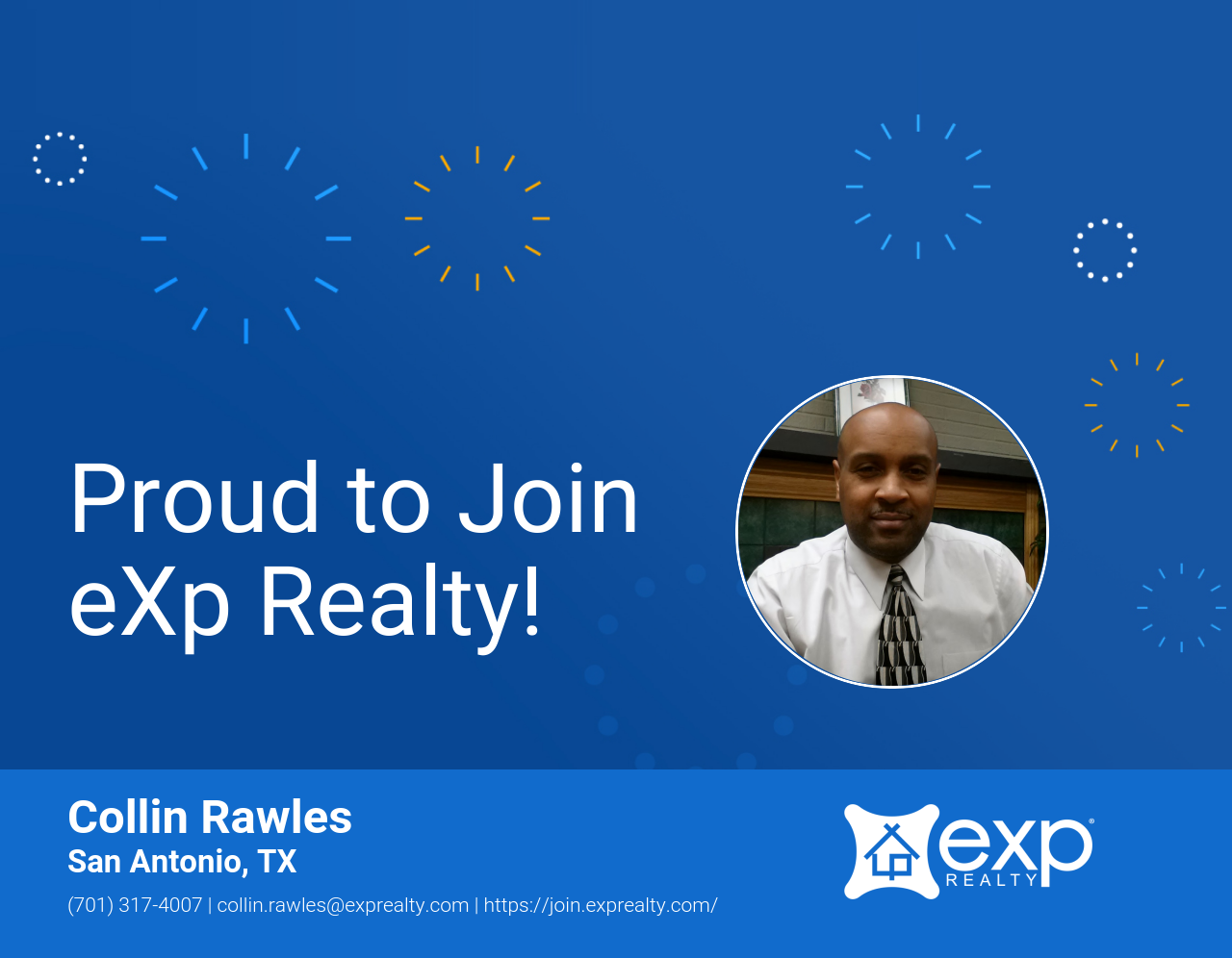 Collin Rawles Joined eXp Realty!