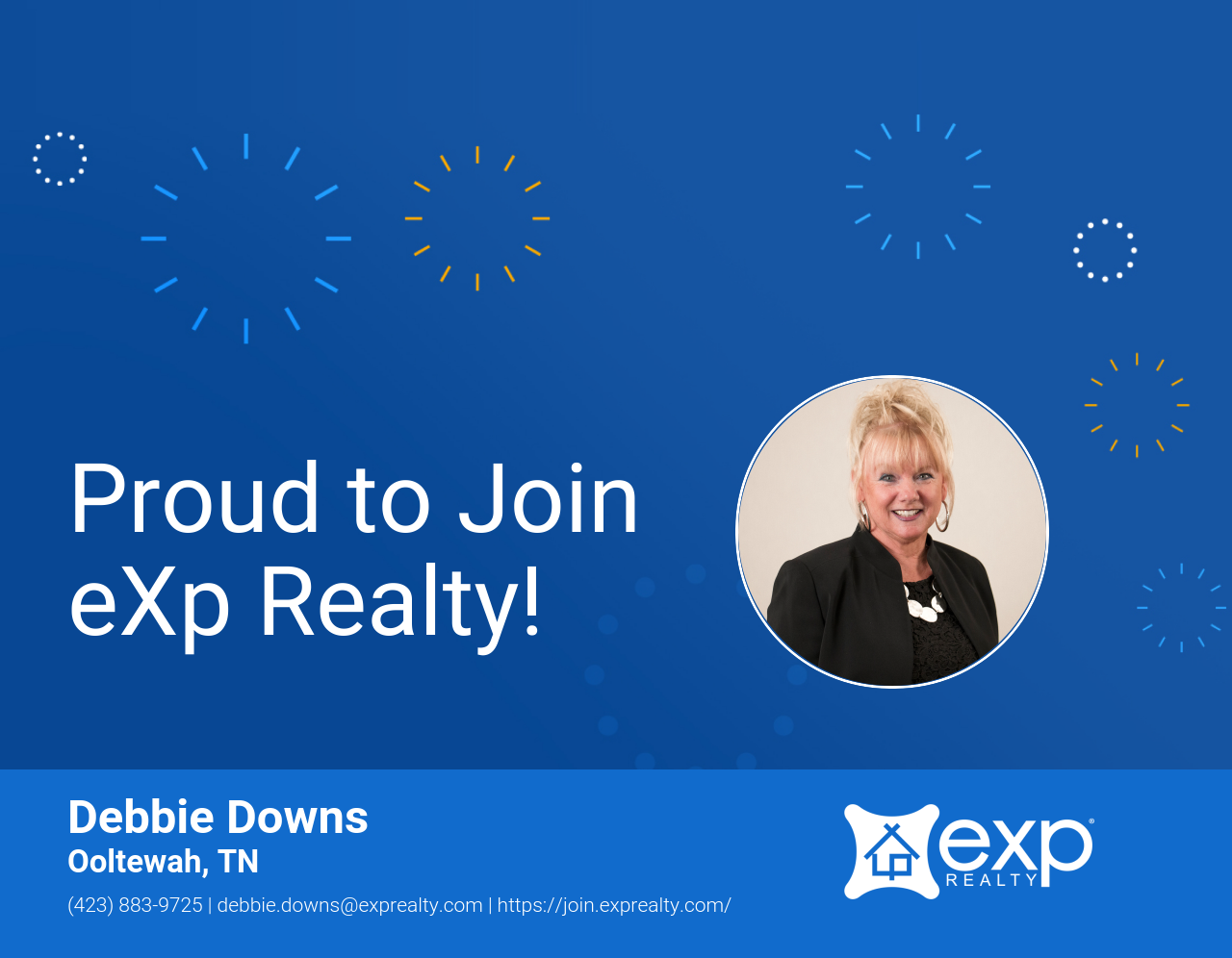 eXp Realty Welcomes Debbie Downs!