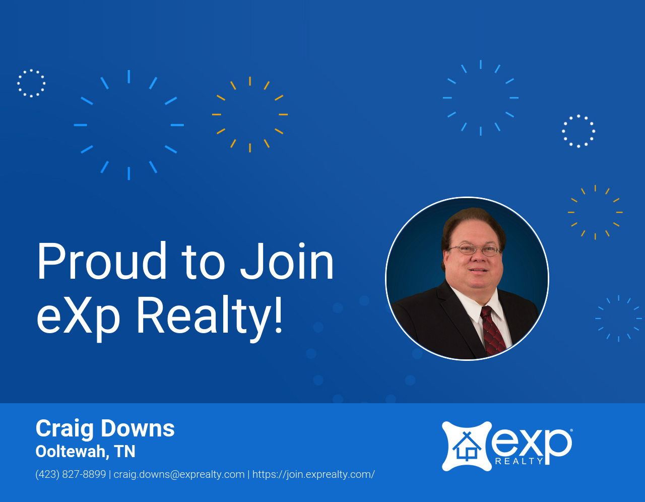 Darrell Craig Downs Joined eXp Realty!