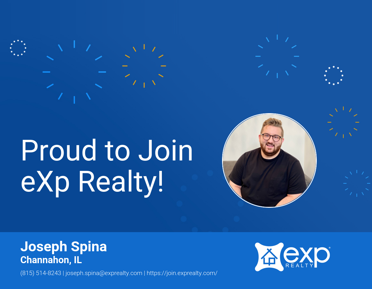 eXp Realty Welcomes Joseph Spina!
