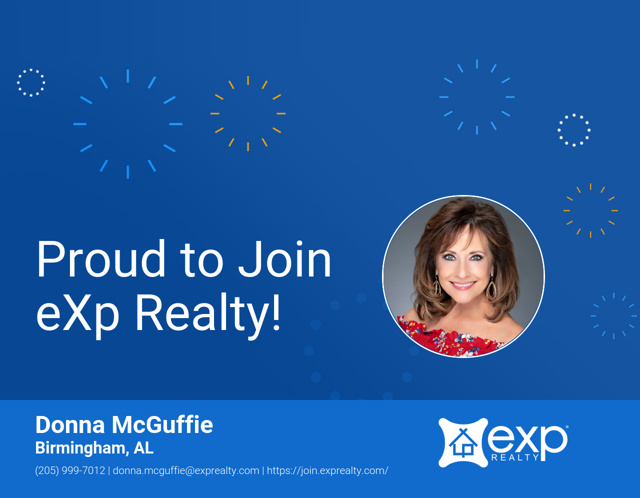 eXp Realty Welcomes Donna McGuffie!