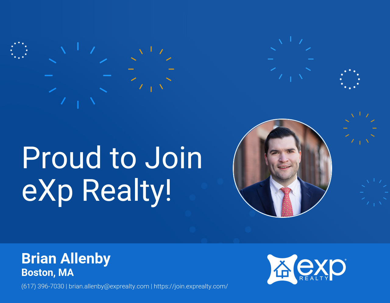 Brian Allenby Joined eXp Realty!