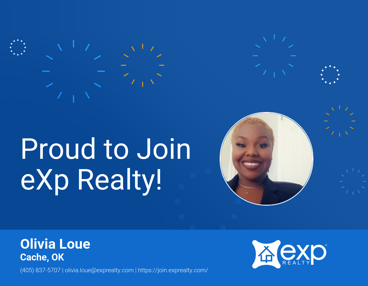Olivia Loue Joined eXp Realty!