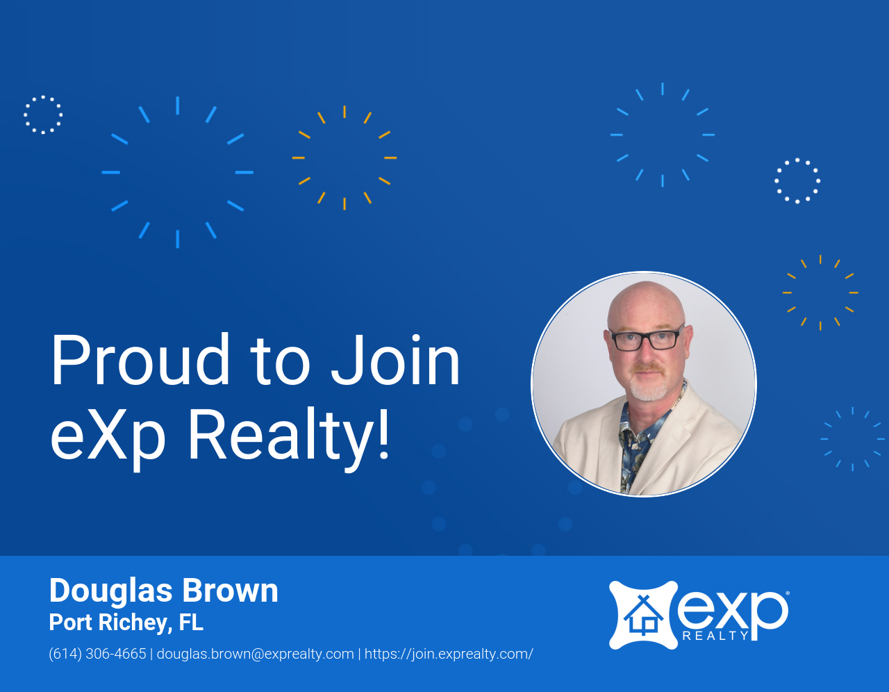 Douglas Brown Joined eXp Realty!