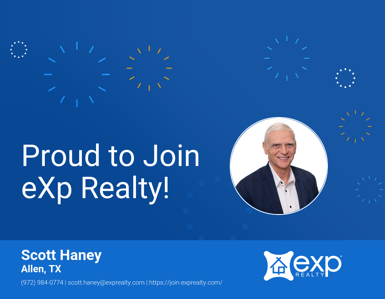 eXp Realty Welcomes Scott Haney!