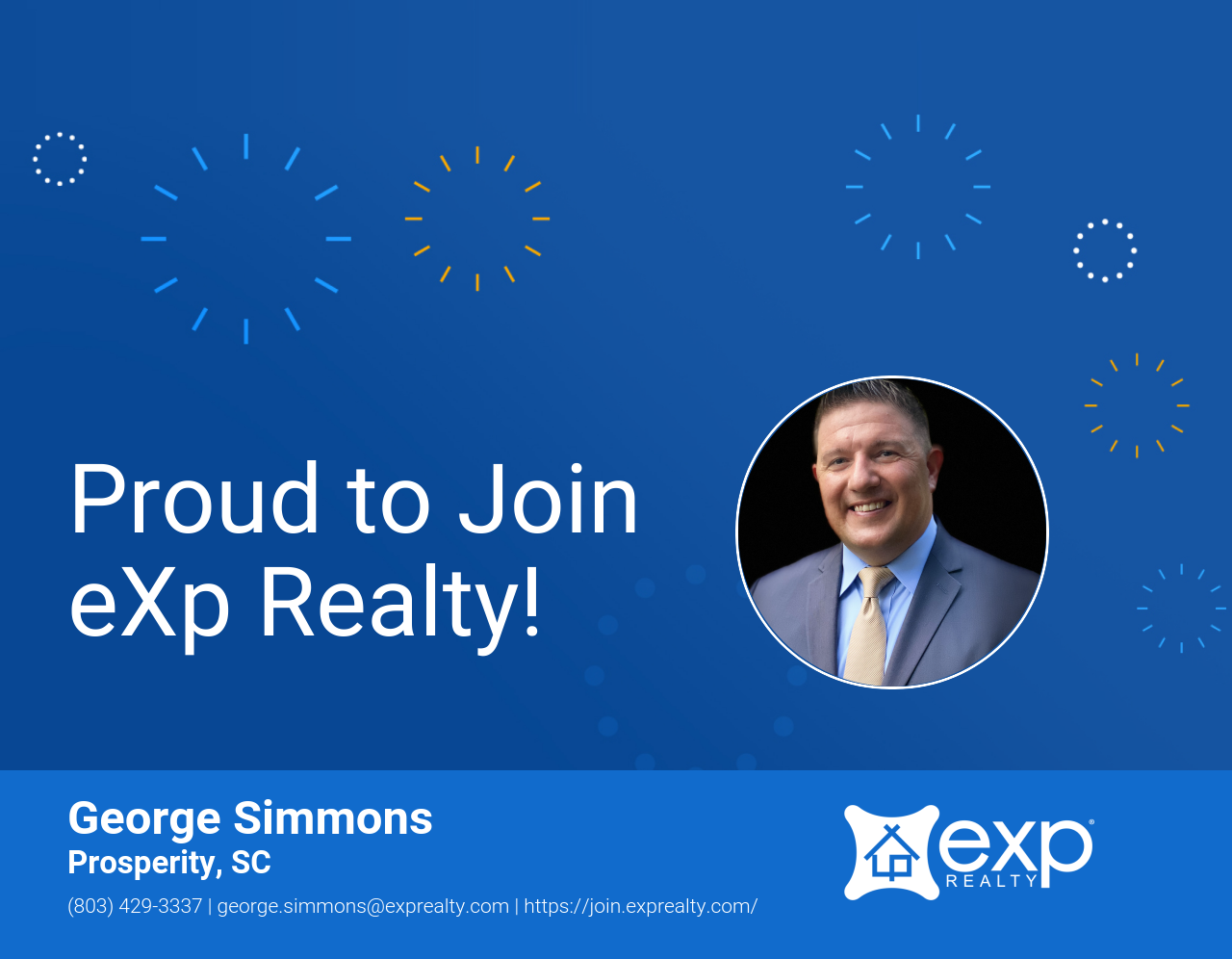 George Simmons Joined eXp Realty!