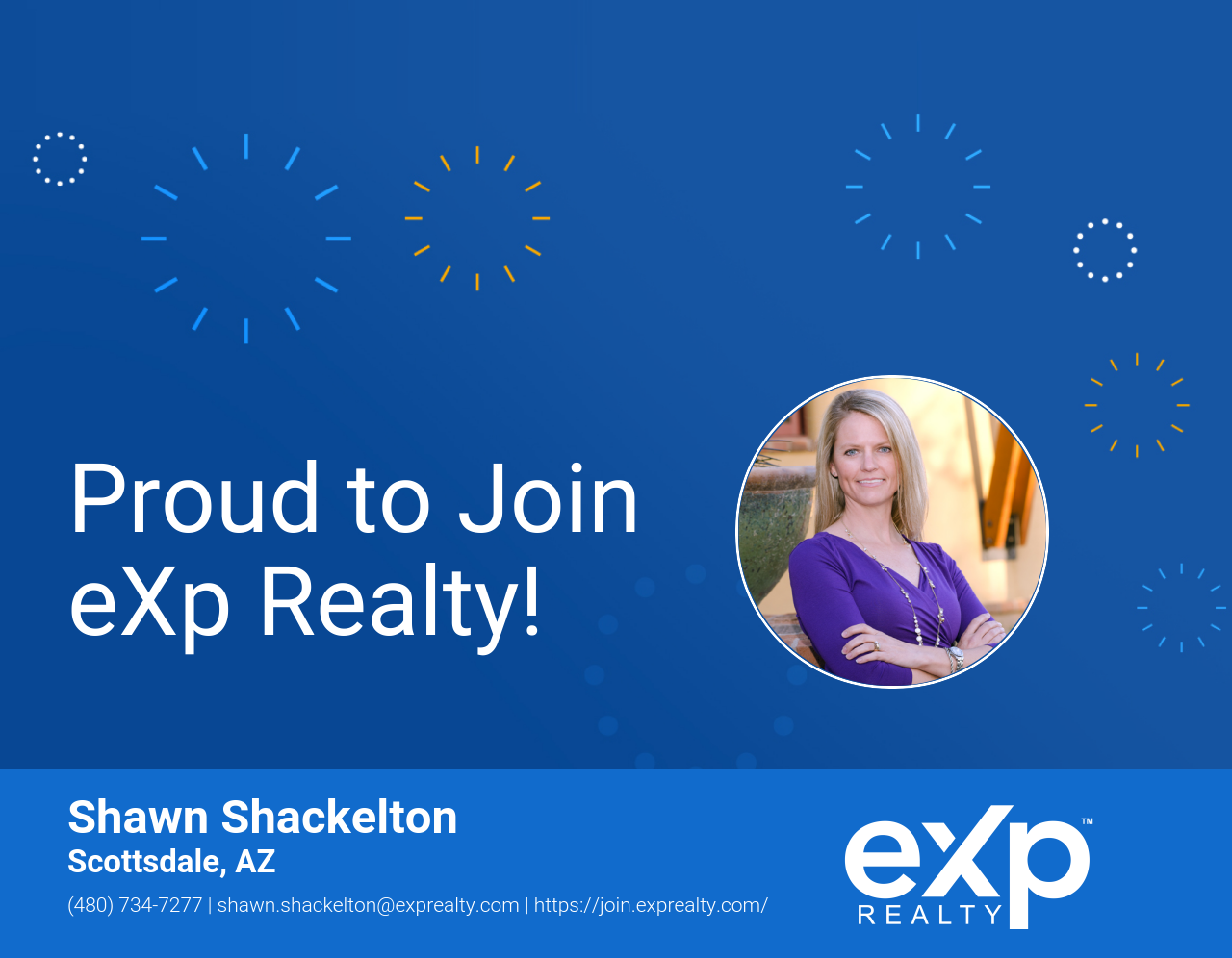 Shawn Shackelton Joined eXp Realty!