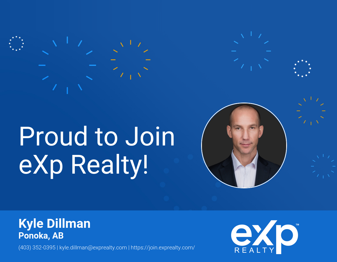 eXp Realty Welcomes Kyle Dillman!
