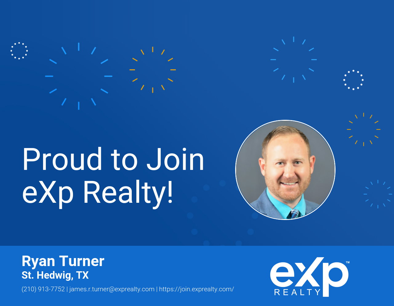Ryan Turner Joined eXp Realty!