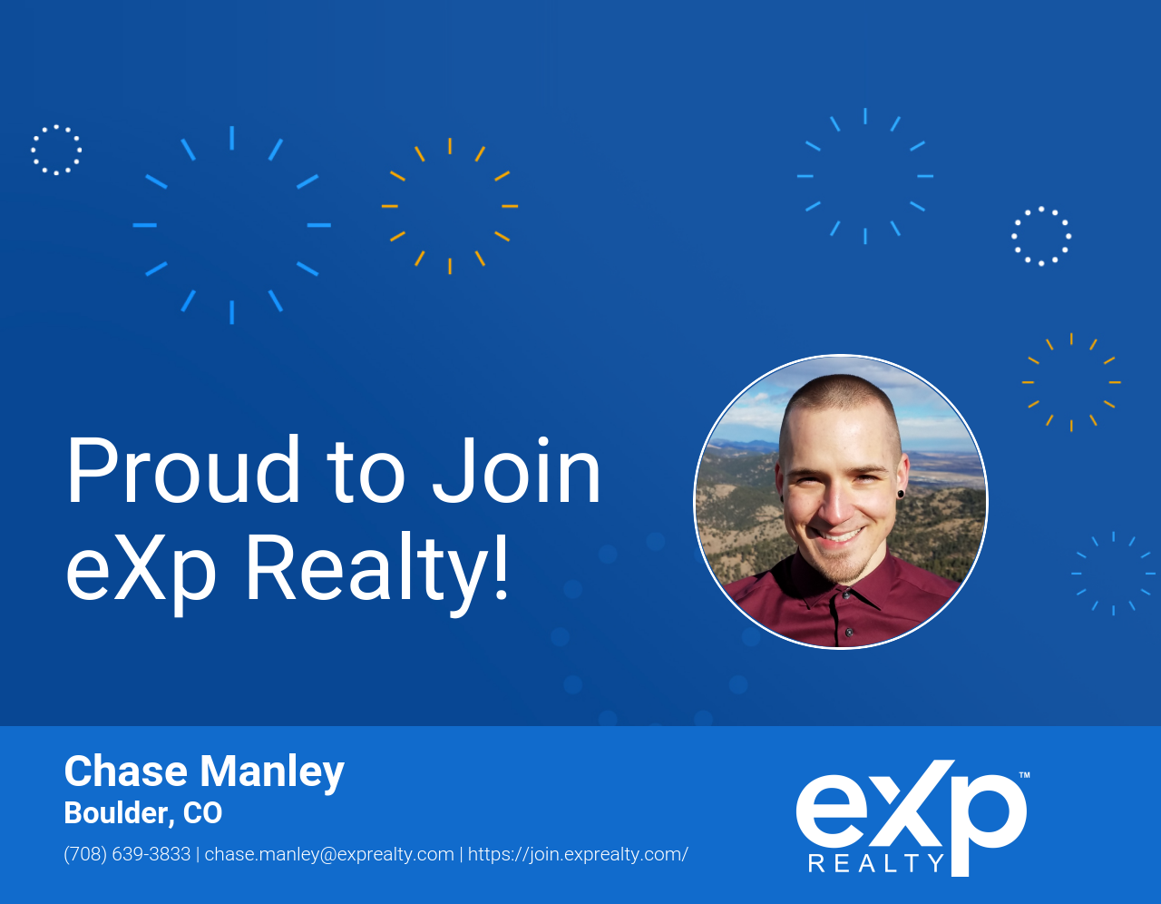 eXp Realty Welcomes Chase Manley!