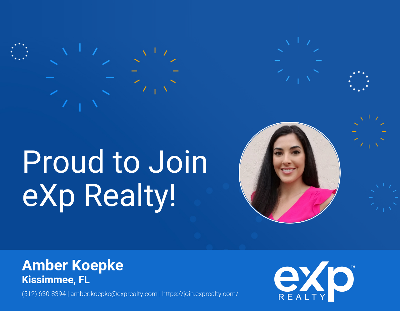 Amber Koepke Joined eXp Realty!