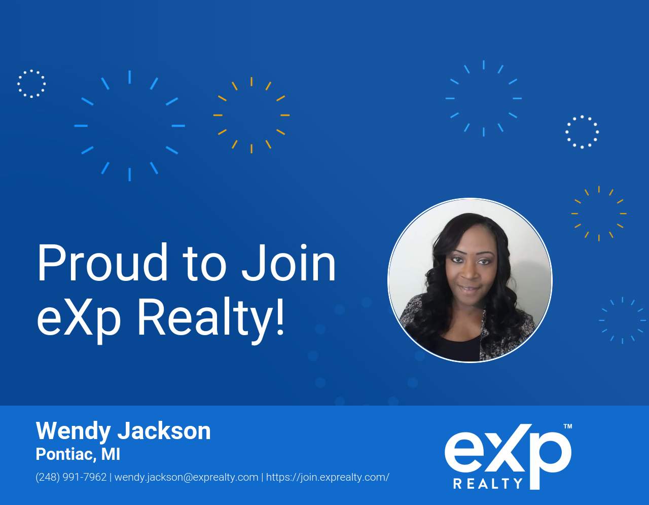 Wendy Jackson Joined eXp Realty!