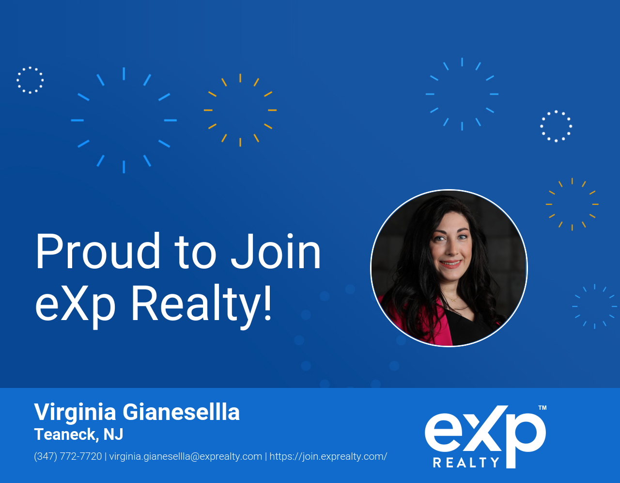eXp Realty Welcomes Virginia Gianesellla!