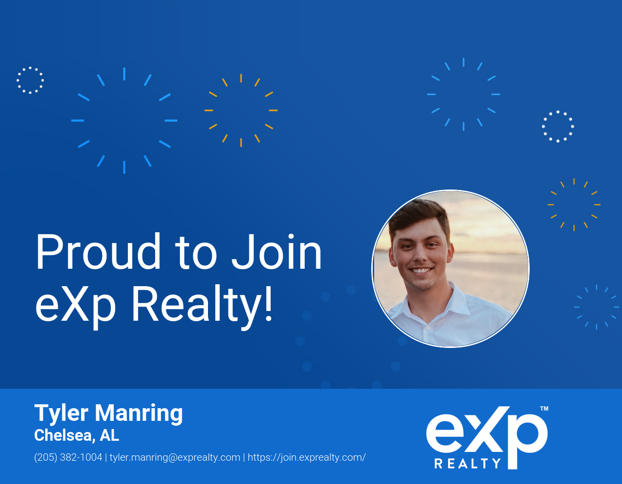 eXp Realty Welcomes Tyler Manring!