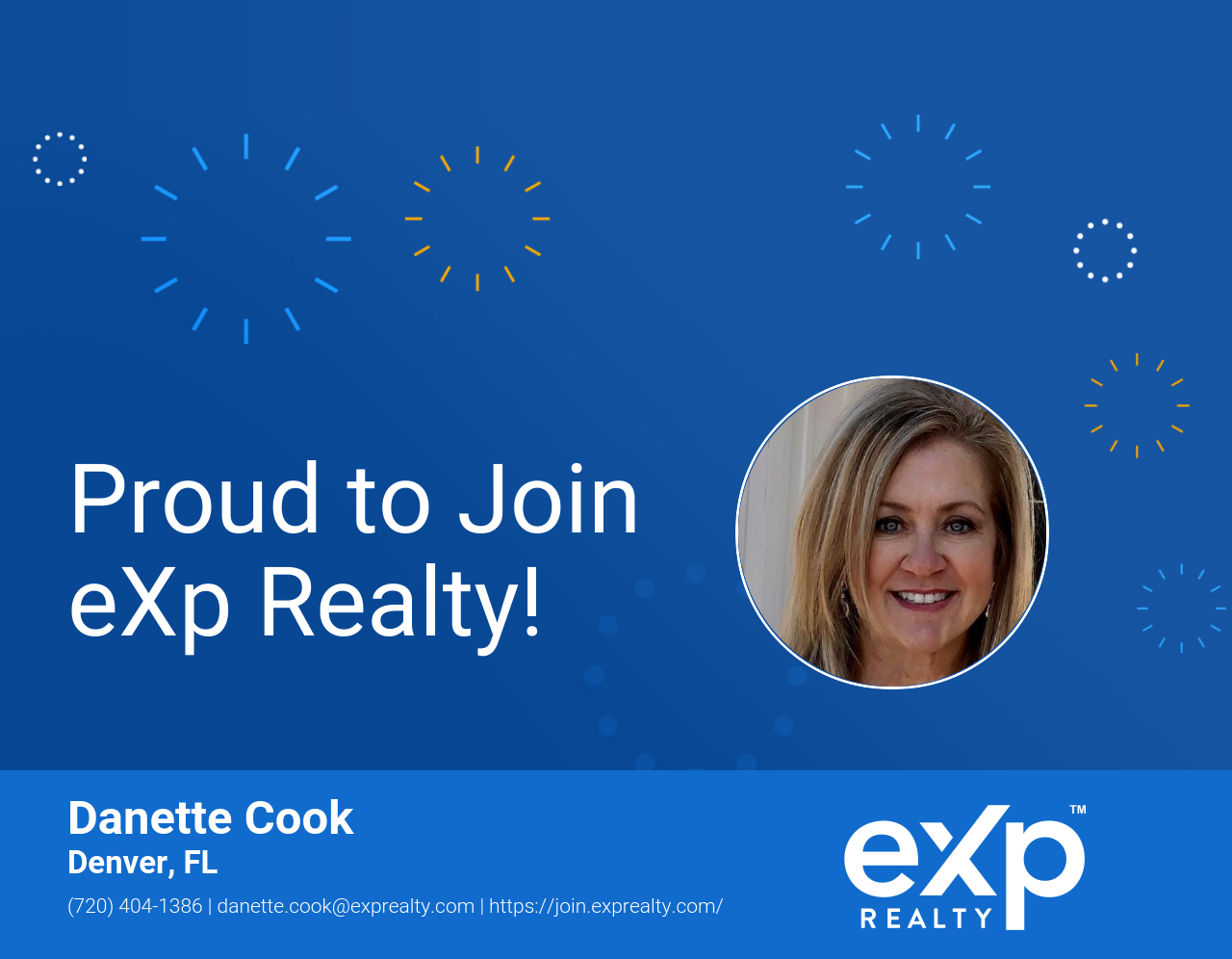 eXp Realty Welcomes Danette Cook!