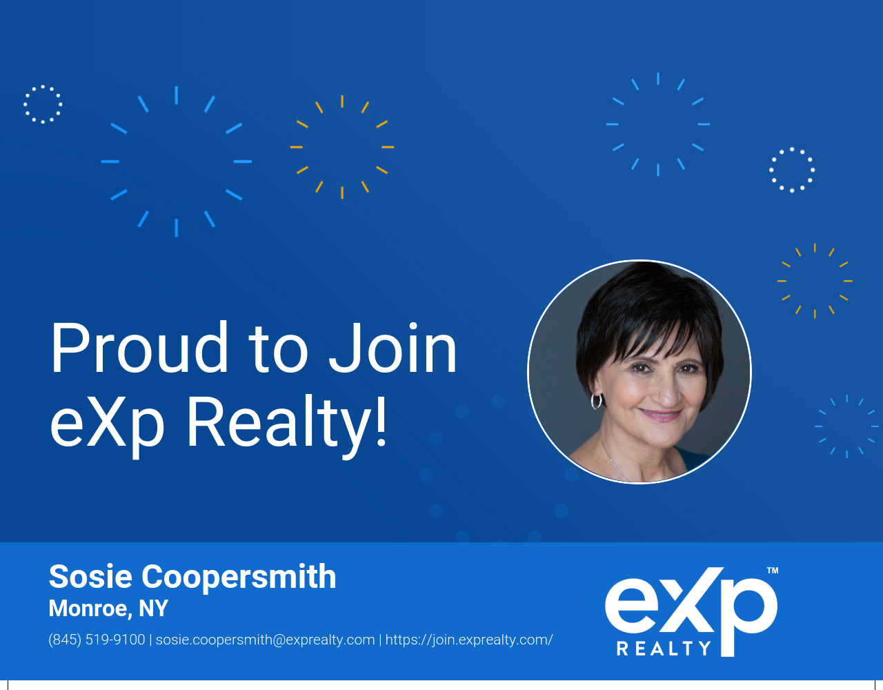 eXp Realty Welcomes Sosie Coopersmith!