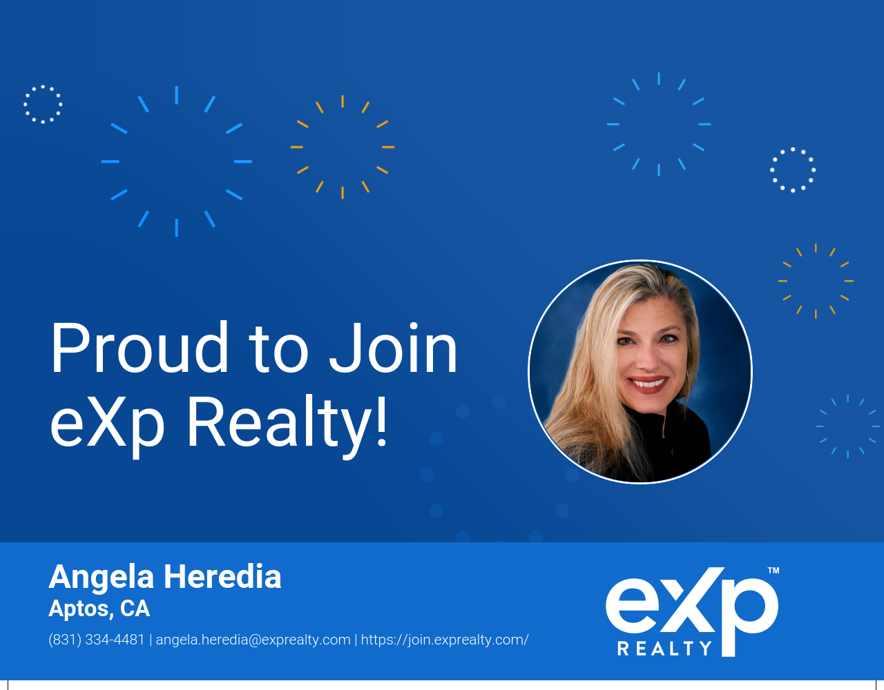 Angela Heredia Joined eXp Realty!
